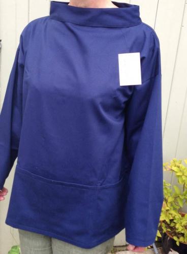 blue twill smock1