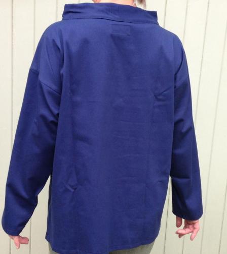 blue twill smock2